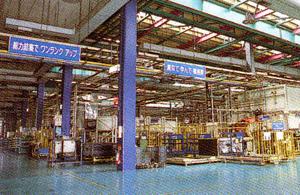 生産工場内 電気設備工事